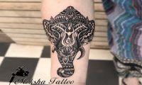 ganesha-tattoo-goa best tattoo studio goa Best Tattoo Studio Goa, Safe, Hygienic | Moksha Tattoo ganesha tattoo design