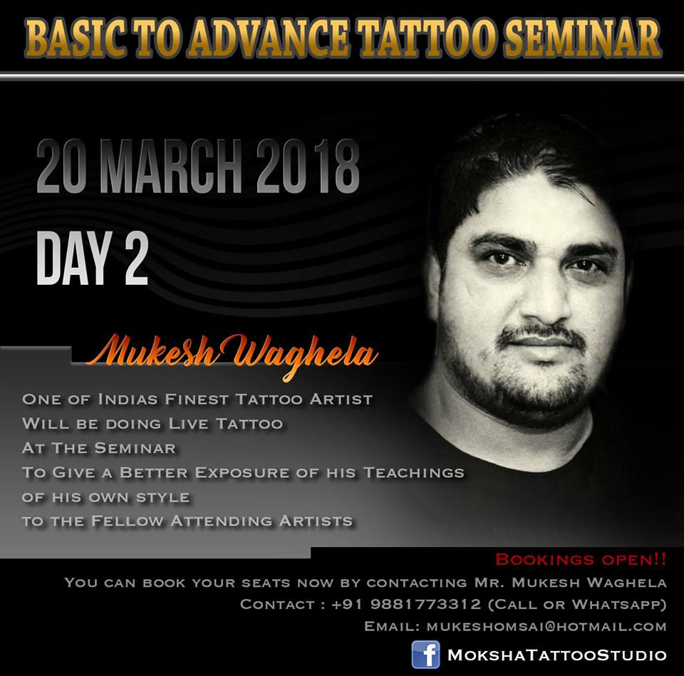 basic to advance tattoo seminar