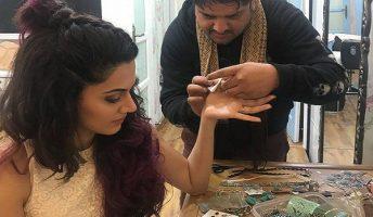 actress taapsee pannu moktha tattoo goa