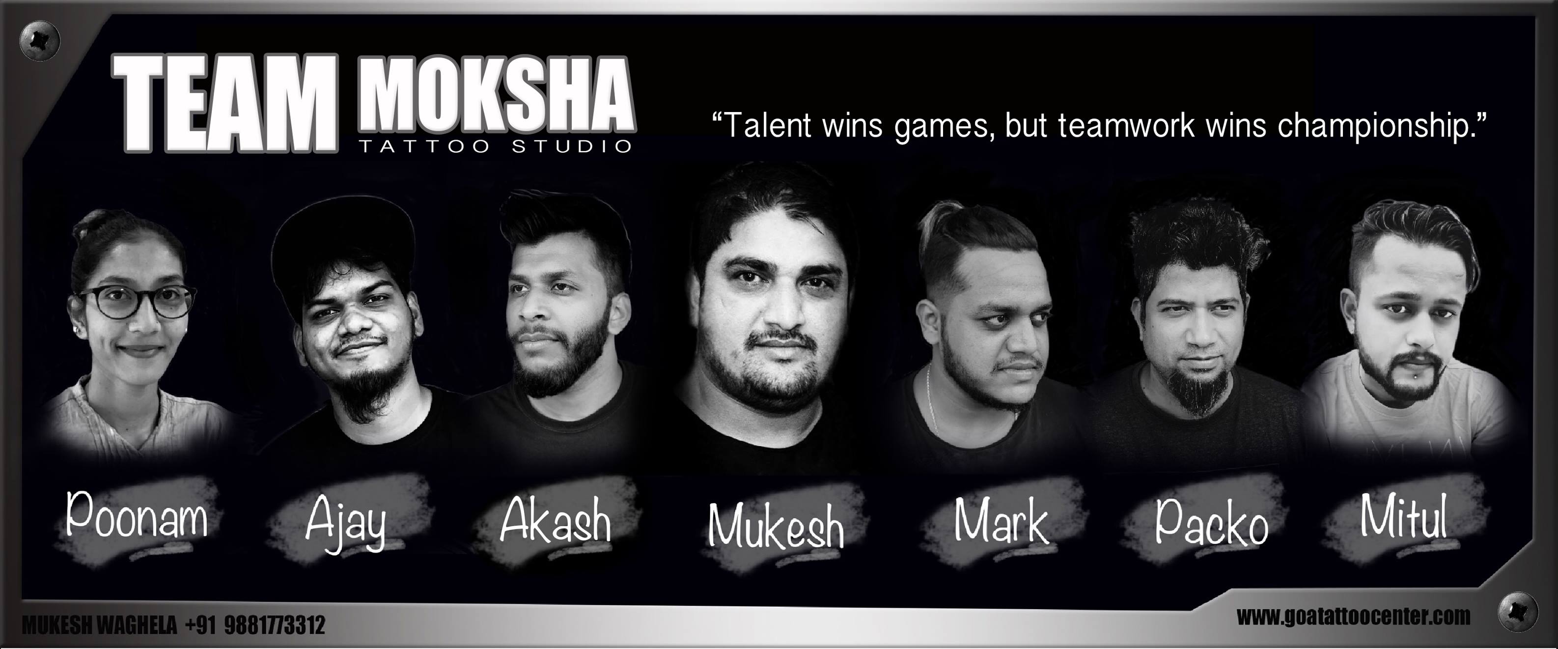 Team-of-Moksha-Tattoo-Studio-based-in-Goa-India