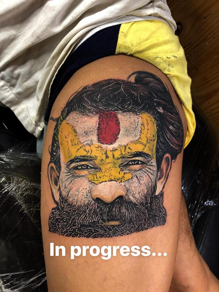 Best Tattoo Artist in India, one of the best tattoo studios in India.
