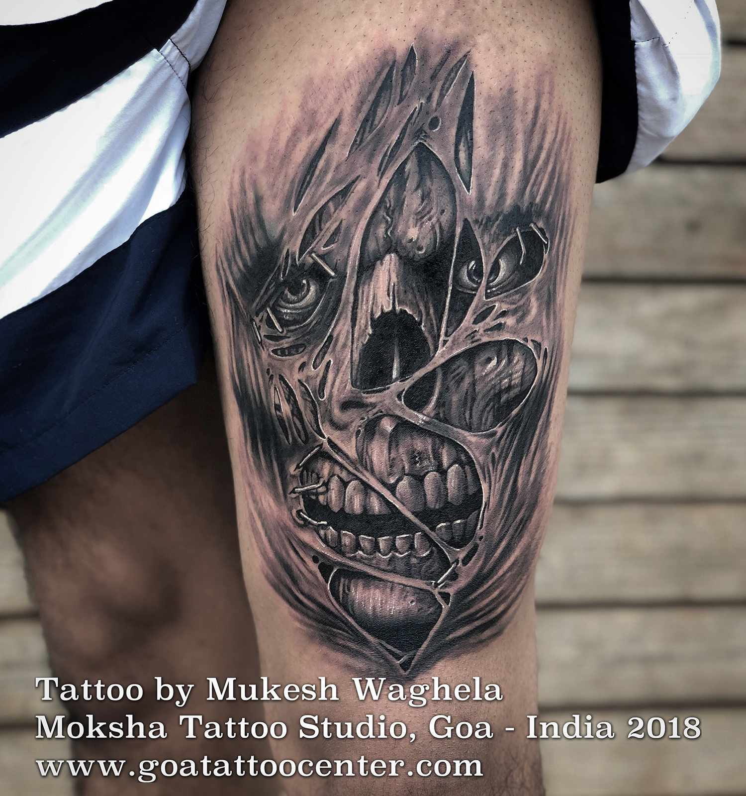 Evil-skull-tattoo-mukesh-waghela-moksha-tattoo-studio