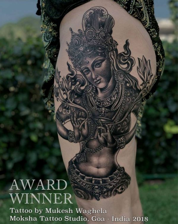 Tara Tattoo, By Moksha Tattoo Studio at Goa Tattoo Festival