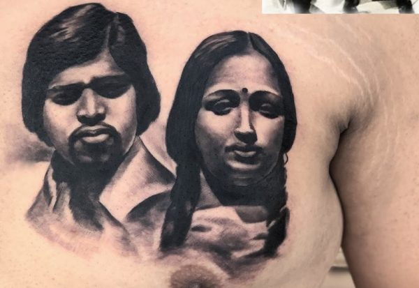 PORTRAIT TATTOO by Mukesh Waghela at Moksha Tattoo Studio