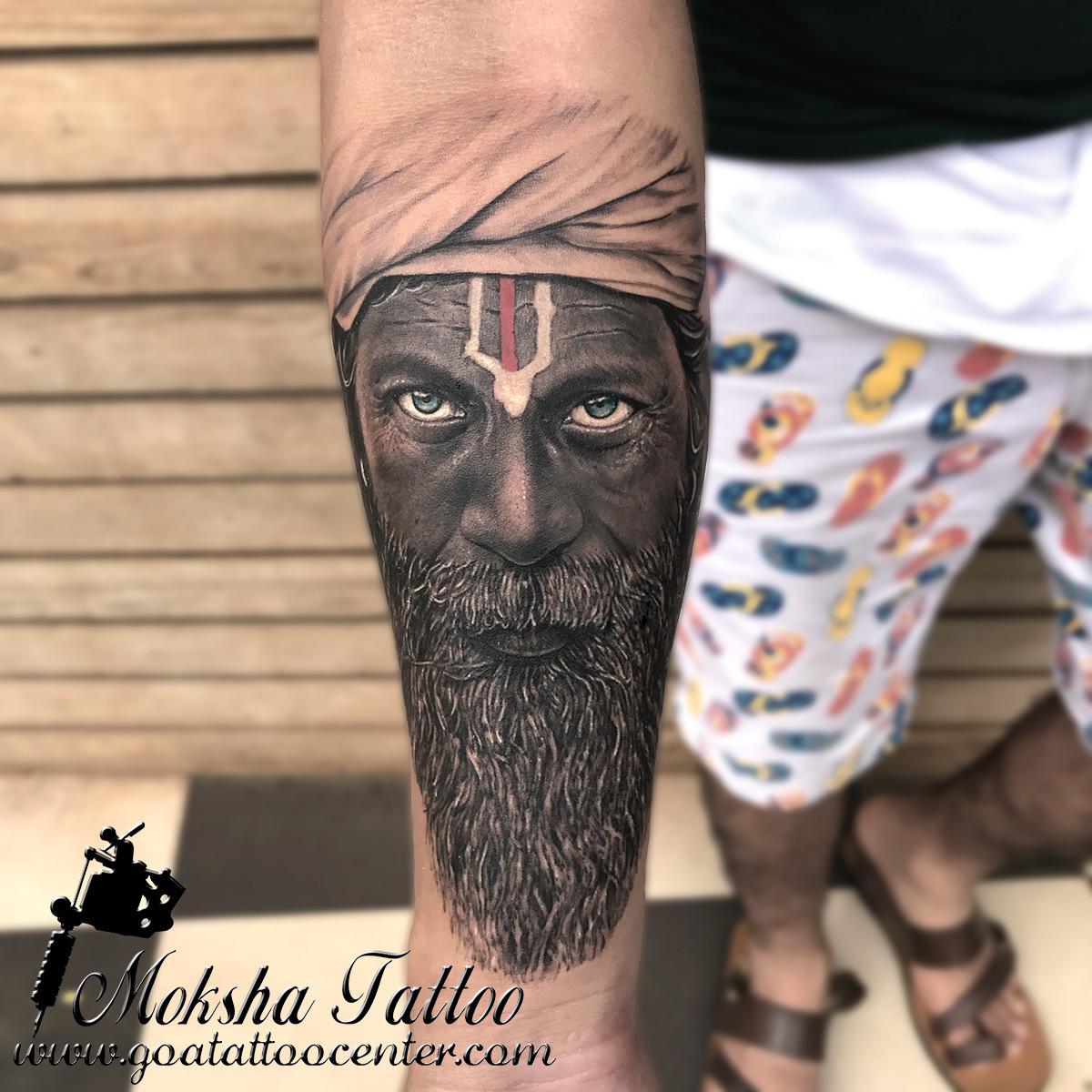 Aghori Sadhu Tattoo