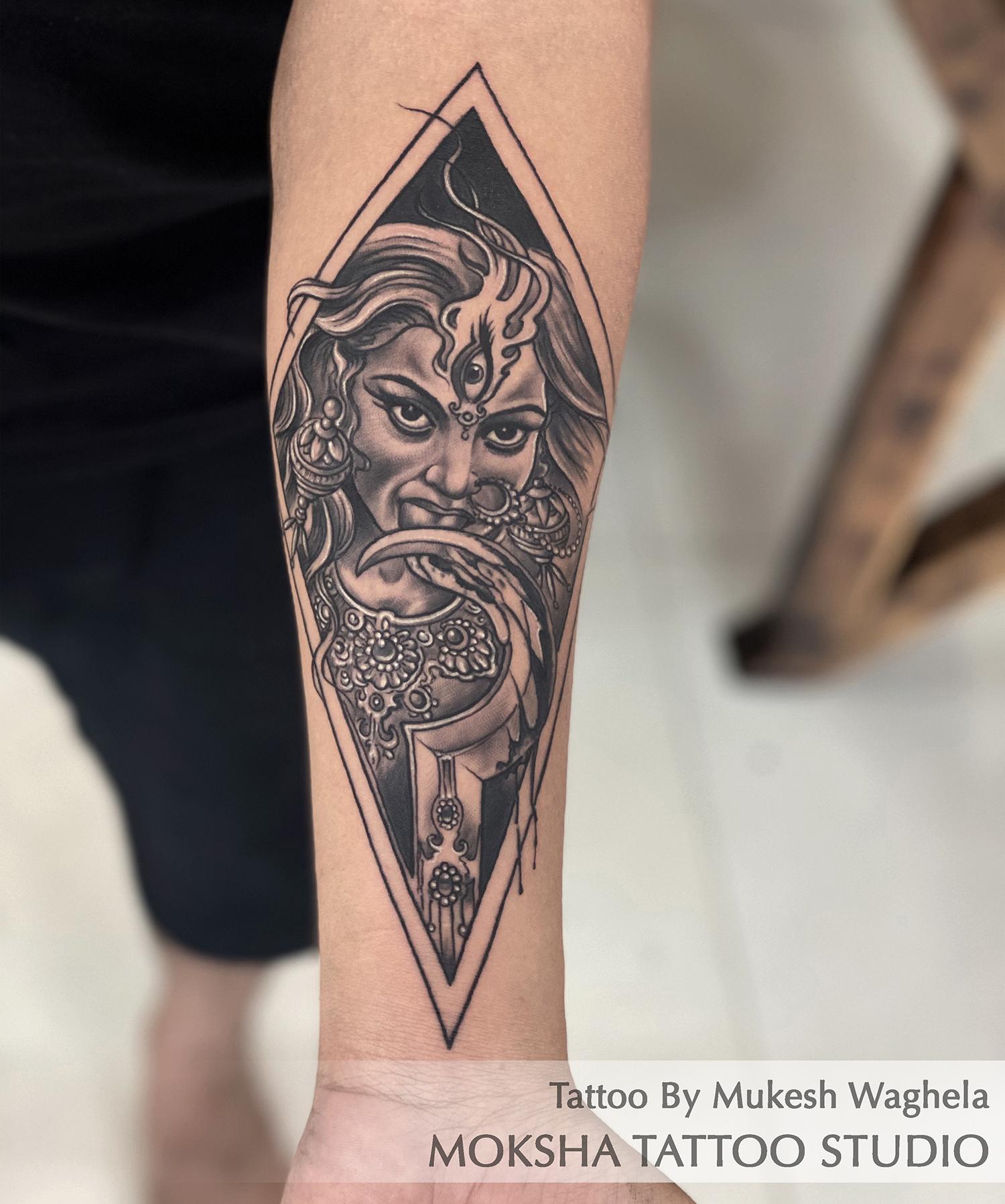 Kali Maa Tattoo