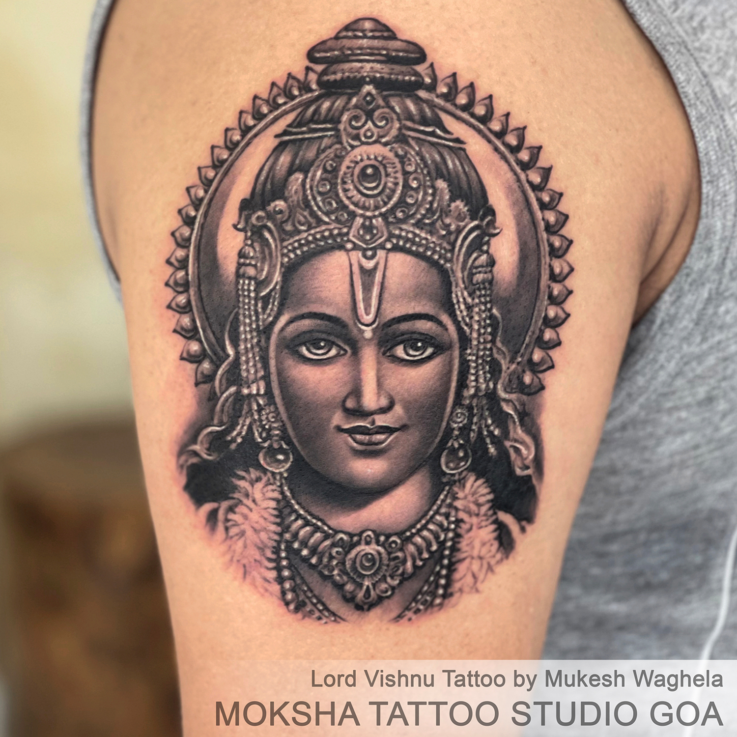 Lord Vishnu Tattoo